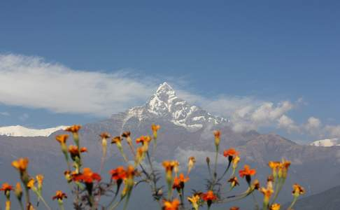 Pokhara, Mt. Fishtail