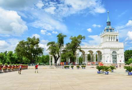 Het People's Square in Harbin