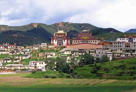Zhongdian, Songzanlin Klooster