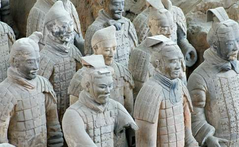 Xi'an, Qin terracotta grafleger