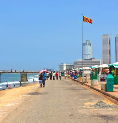 Galle Road in Colombo