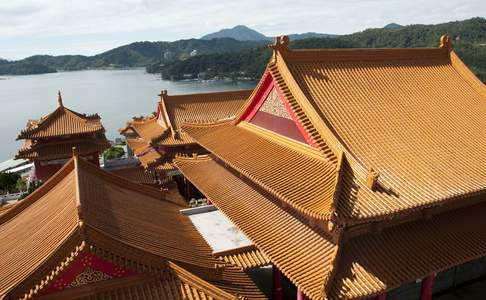 Sun Moon Lake, Wenwu Tempel
