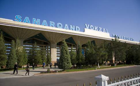 Registan Express in Samarkand