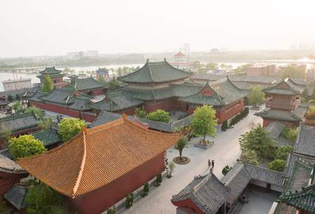 Tempel of the Chief Minister in Kaifeng