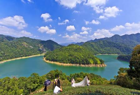 Sun-Moon-Lake, Sun Moon Lake, bruiloft