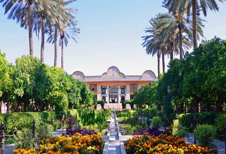 De Eram tuin in Shiraz